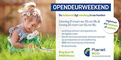 Planet-eco lente opendeur weekend tickets