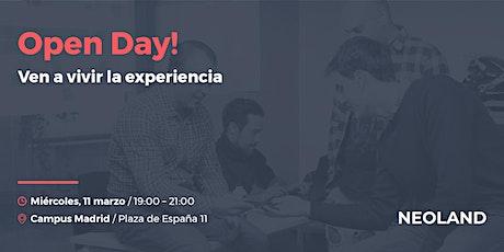 Open Day! Madrid entradas