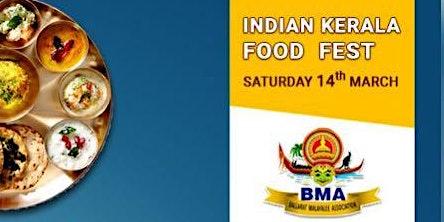 Indian kerala food fest