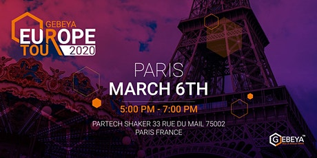 Gebeya Europe Tour - PARIS tickets