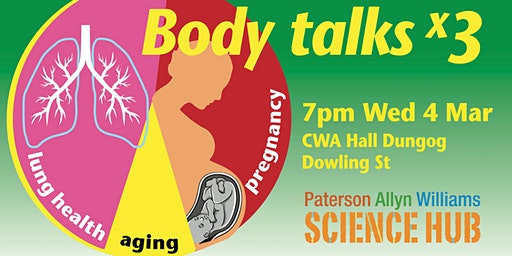 Body Talks x 3 - Paterson Allyn Williams Science Hub