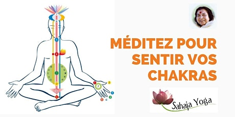Méditez pour sentir vos Chakras - Nantes Graslin billets