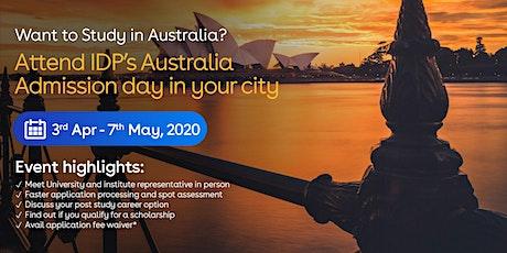 Attend Australia Admission day in Jaipur tickets