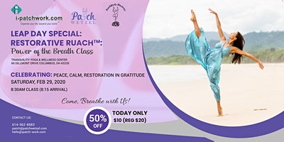 Leap Day Special: Restorative Ruach™