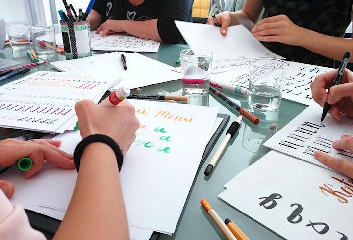 Brush Lettering - für Anfänger - Graz: Bild