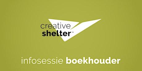 Creative Shelter infosessie voor boekhouders tickets