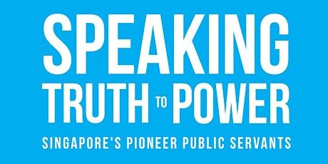 Speaking Truth to Power Book Seminar tickets