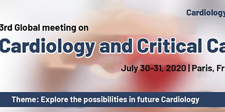 3rd Global meeting on Cardiology and Critical Care tickets