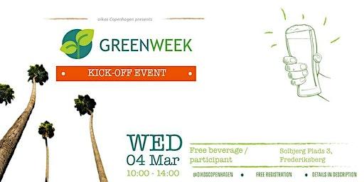 Green Week: Kick-off