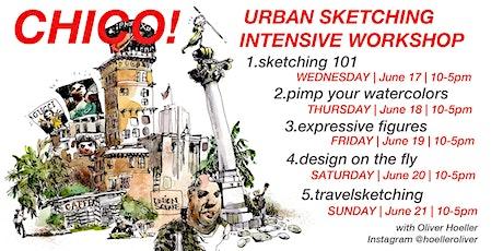 Chico - California: Urban Sketching Intensive Workshop! tickets