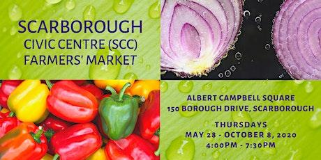 Scarborough Civic Centre (SCC) Farmers' Market Vendor Application tickets