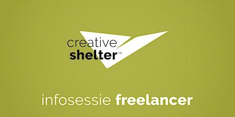 Creative Shelter infosessie voor freelancers tickets