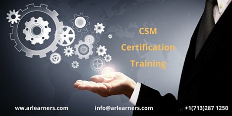 CSM Certification Training in Abilene, TX,USA tickets
