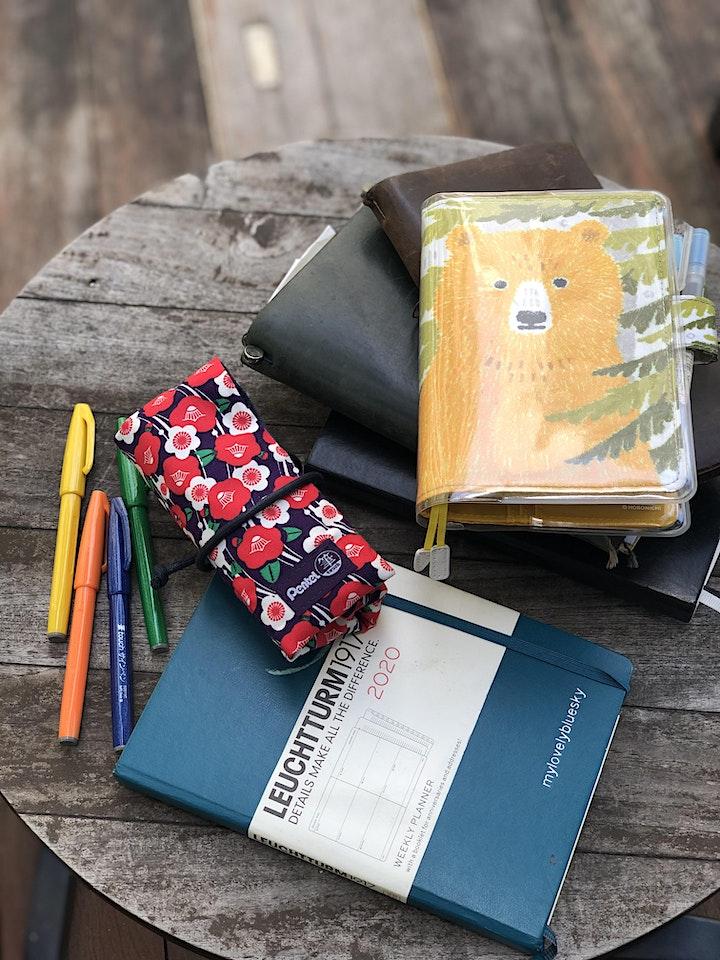 「 带着手帐趴趴走」手帐聚会 Journaling Meet-up by 蓝天白云数格子 Mylovelybluesky image