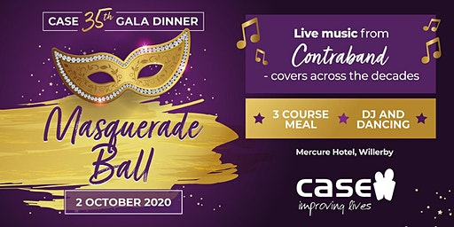 CASE 35th Anniversary Masquerade Ball