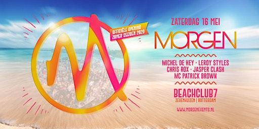 MORGEN - Officiële opening zomerseizoen 2020