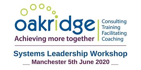 Systems Leadership Workshop - Manchester tickets