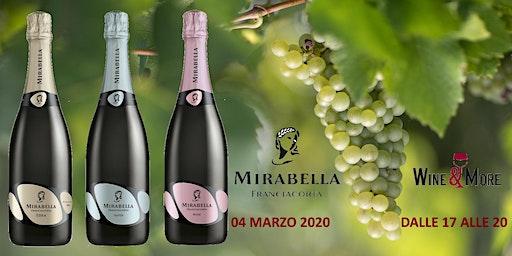 le Bollicine della Franciacrota con Mirabella