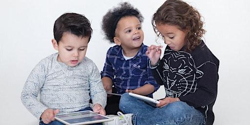 Boek, site, app: samen spelen op het web, lezing door Denise Bontje