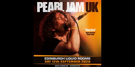 Pearl Jam UK - Liquid Room, Edinburgh tickets