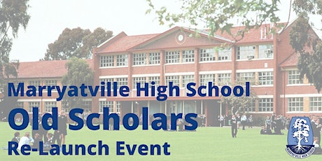 Marryatville High School Old Scholars Re-Connect tickets