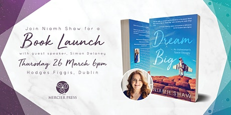Niamh Shaw launches her book Dream Big tickets