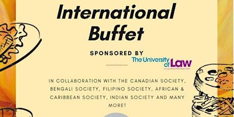 LawSoc: International Buffet tickets