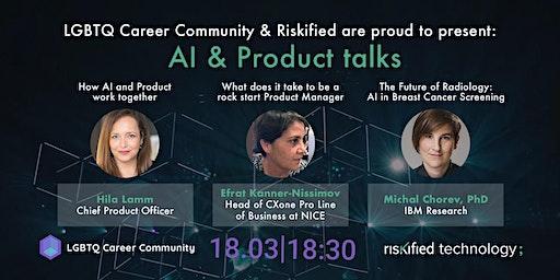 LGBTQ Career Community: AI & Product talks