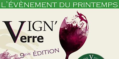 Vign'O Verre Printemps 2020 : rencontres vigneronnes du caviste billets