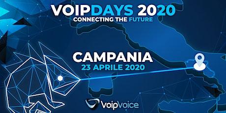 VoipDay Campania biglietti