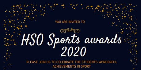 HSO Sports Awards 2020 tickets