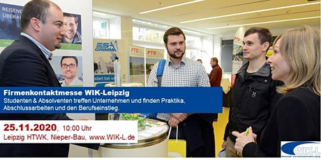 Firmenkontaktmesse WIK-Leipzig HTWK 2020 tickets