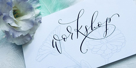 Introduction to modern calligraphy with Mint Lettering tickets