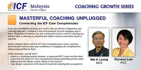 ICF Coaching Growth Series: Masterful Coaching Unplugged tickets