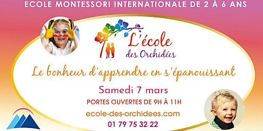 Porte Ouverte - Ecole Montessori des Orchidées : 7 Mars 2020