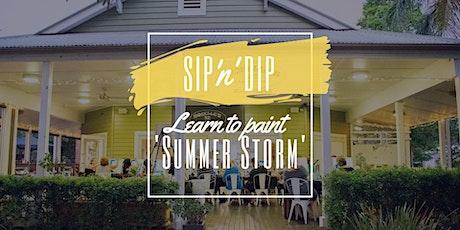 Moselles Springfield - Sip 'n' paint 'Summer Storm'! tickets