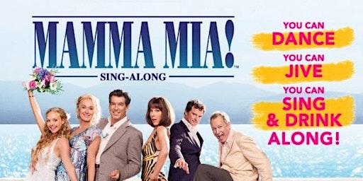 Outdoor Cinema -Mamma Mia  Singalong -Ockbrook Cricket Club