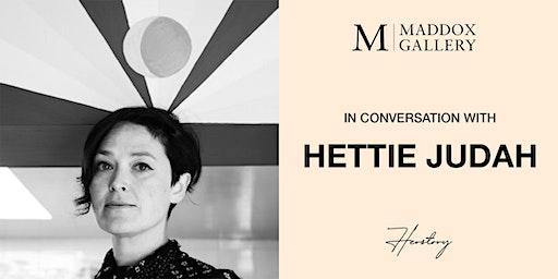 In Conversation with Hettie Judah