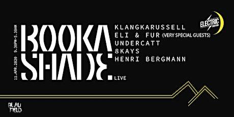 Booka Shade Live tickets