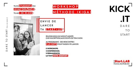 Kick.it - Workshop *Méthode Ikigai* tickets