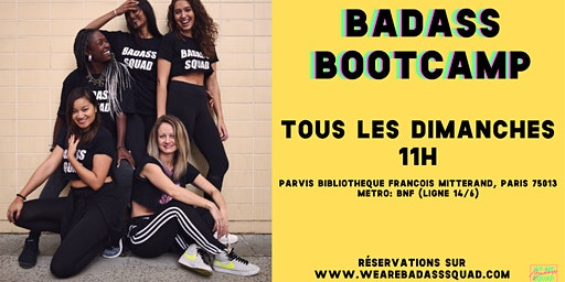 Badass Bootcamps are back and taking over BNF!