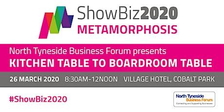 ShowBiz 2020: Metamorphosis tickets