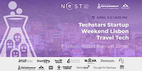 Techstars Startup Weekend Lisbon Travel Tech bilhetes