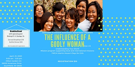 The Influence of a Godly Woman tickets