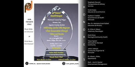 NCNW, Inc. Queens County Section - 33rd Annual Awards Banquet tickets