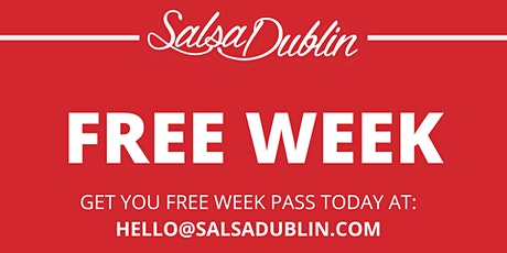 FREE WEEK - Salsa & Bachata tickets