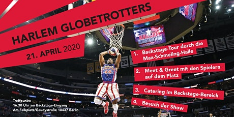 VERSCHOBEN - Harlem Globetrotters hautnah erleben - Backstage + MAGIC PASS tickets
