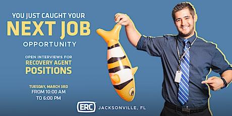 ERC Jacksonville Open Interviews March tickets