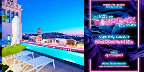 Jackies Pres: Throwback 80' Music Rooftop Party - Disco & Funky Music entradas