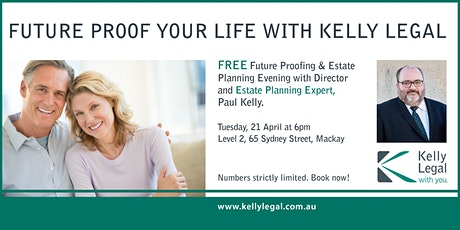 Future Proof Your Life with Kelly Legal tickets